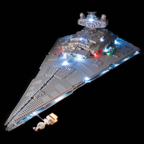 75252 - UCS Imperial Star Destroyer Lighting Kit - Elegant Bricks Limited