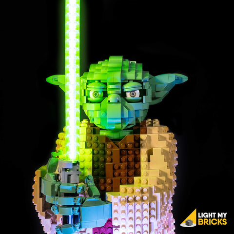 75255 - Yoda Lighting Kit - LEGO  Lighting Kit - Elegant Bricks