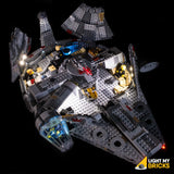 75257 - Millennium Falcon Lighting Kit - LEGO  Lighting Kit - Elegant Bricks