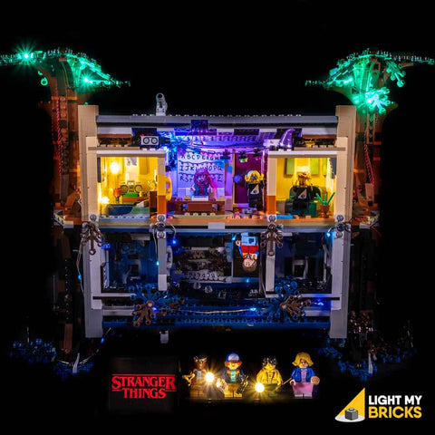 75810 - Stranger Things The Upside Down Lighting Kit - LEGO  Lighting Kit - Elegant Bricks