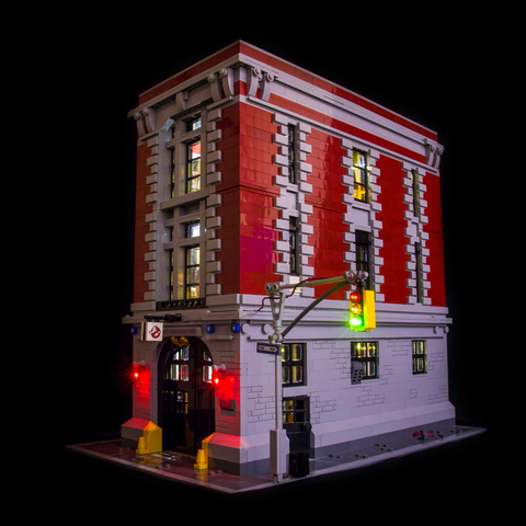 75827 - Ghostbusters Firehouse HQ Lighting Kit - LEGO  Lighting Kit - Elegant Bricks