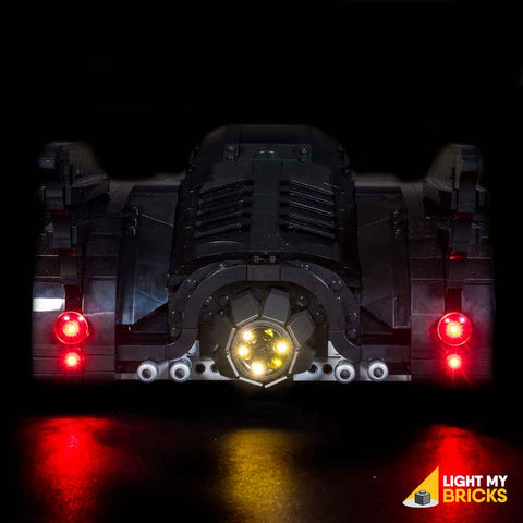 76139 - 1989 Batmobile Lighting Kit - LEGO  Lighting Kit - Elegant Bricks