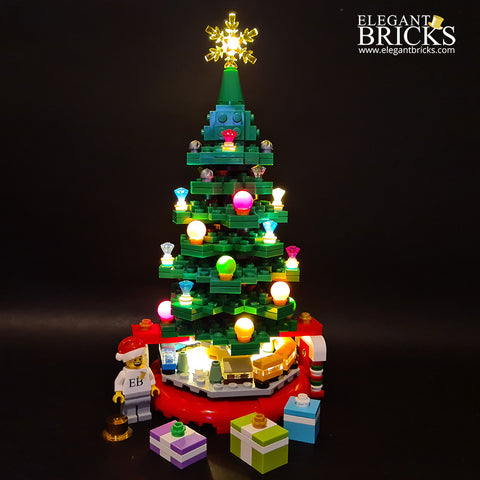 40338 - The Christmas Tree - Elegant Bricks Limited