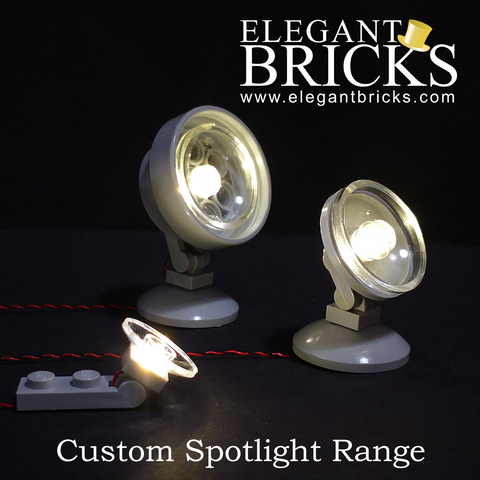 Spotlights - LEGO  Components - Elegant Bricks