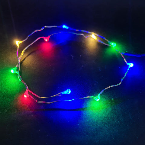 EBS154 - String Lights in Festive Colours - LEGO  Components - Elegant Bricks