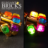 Infinity Gauntlet with Light-up Stones - Elegant Bricks Limited
