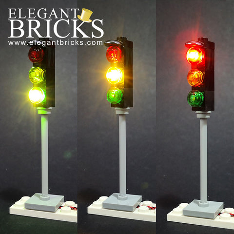 Traffic Light - LEGO  Components - Elegant Bricks