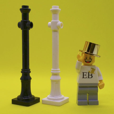 Custom Lamp Post - LEGO  Components - Elegant Bricks
