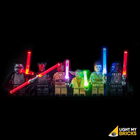 Light Up Light Sabres / Light Sabers - LEGO  Components - Elegant Bricks