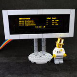 Elegant Departure Boards - LEGO  Components - Elegant Bricks