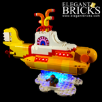 21306 - Yellow Submarine Lighting Kit - LEGO  Lighting Kit - Elegant Bricks