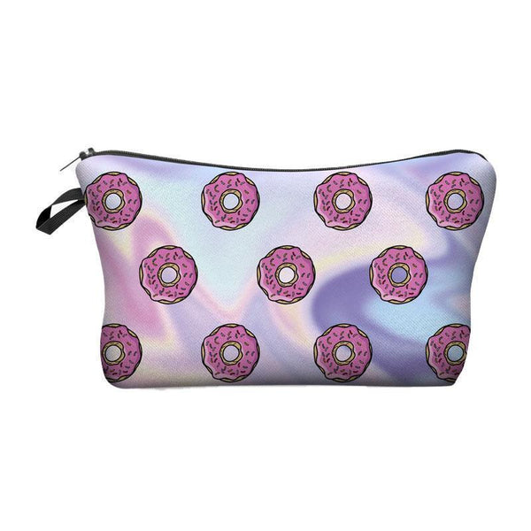 wapeetee Trousse à maquillage Donuts