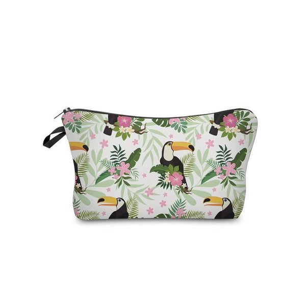 Wapeetee Trousse à maquillage Flamingo