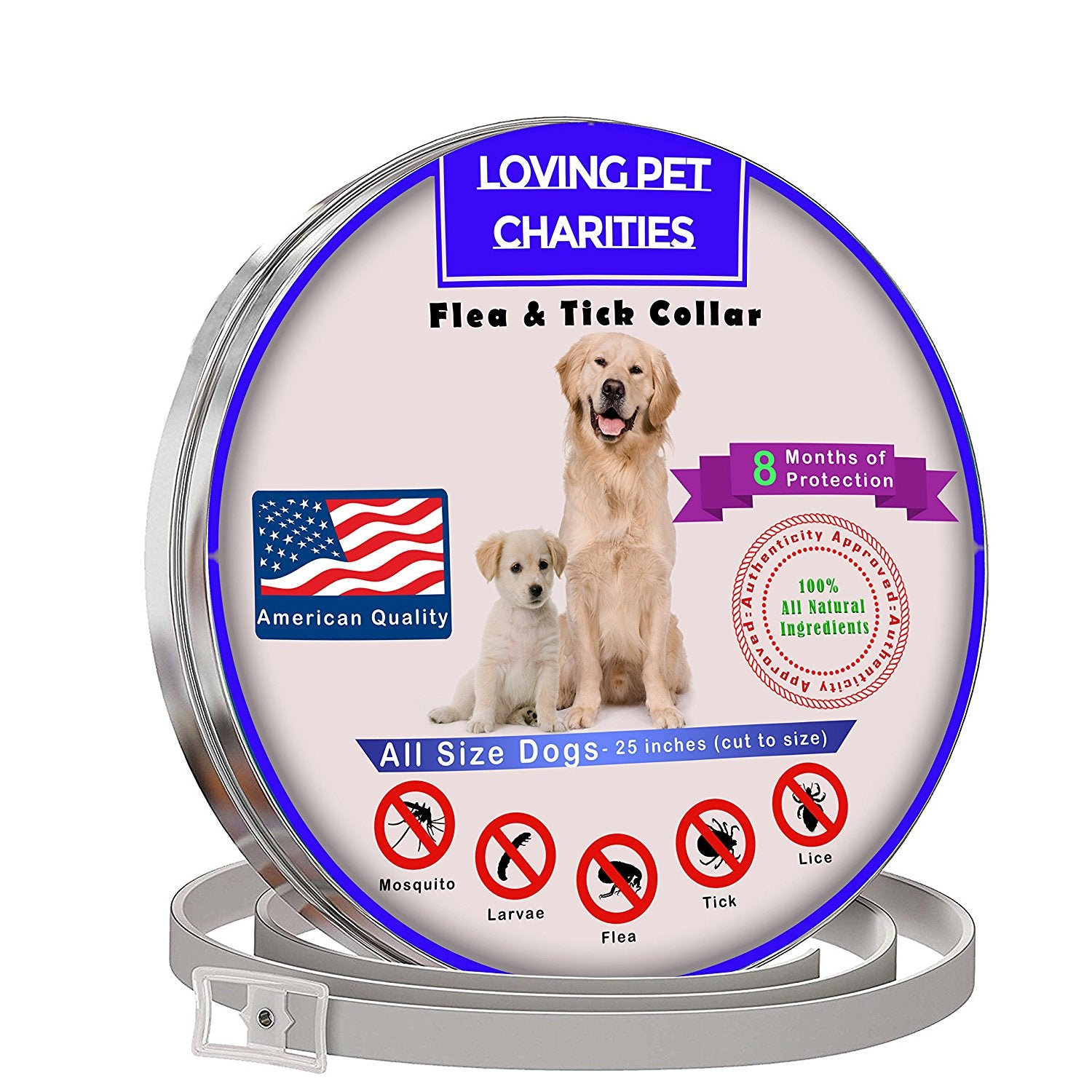 All Natural Flea And Tick Collar For Dogs
