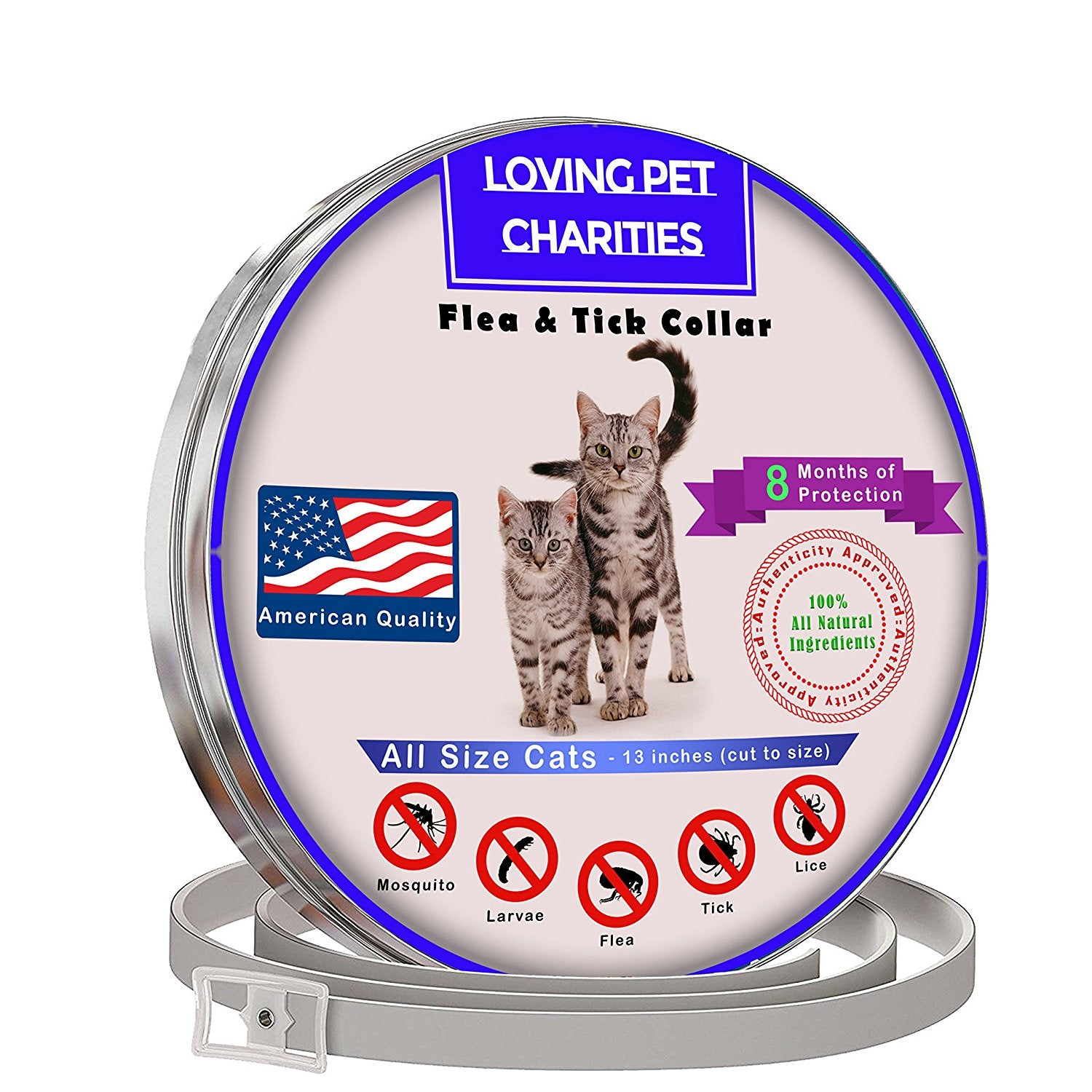 All Natural Flea And Tick Collar For Cats
