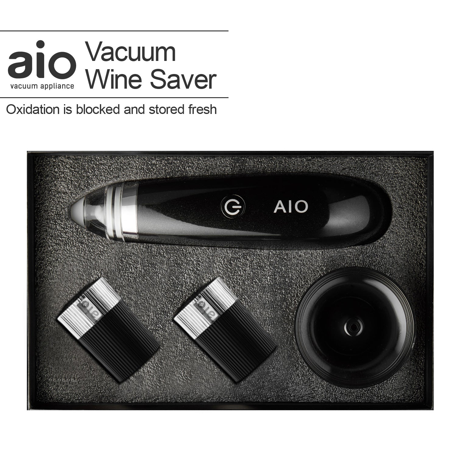 Electric Wine Saver Vacuum Pump by AIO