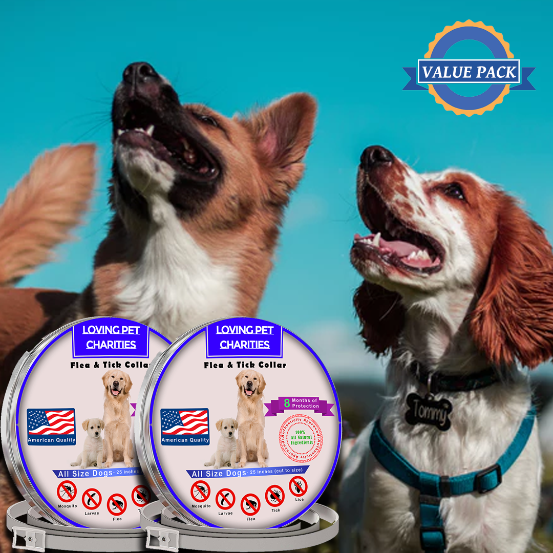 2 All Natural Flea & Tick Collars Value Pack!
