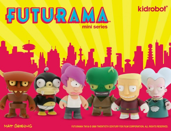 FUTURAMA UNIVERSE X BLIND BOX MINI FIGURE SERIES BY KIDROBOT1