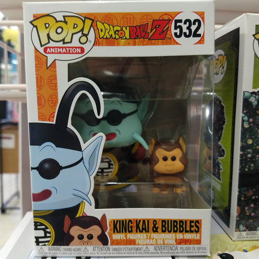 King Kai & Bubbles - DragonBall Z: Funko Pop