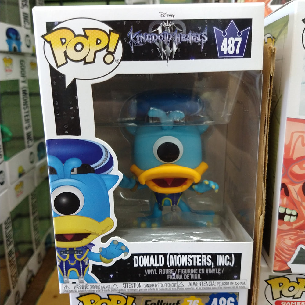 Donald (Monster's INC.) - Kingdom of Hearts: Funko Pop