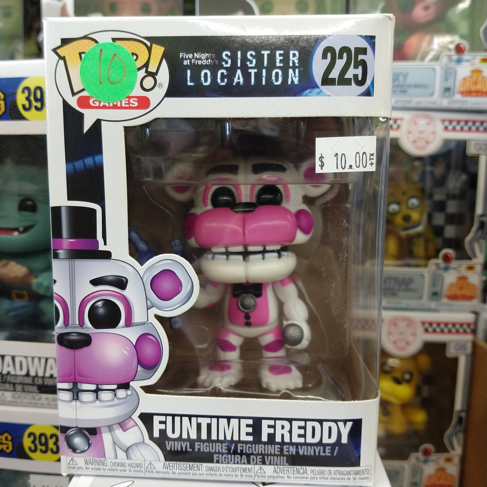 Funtime Freddy (Monster's INC.) - FNAF: Funko Pop