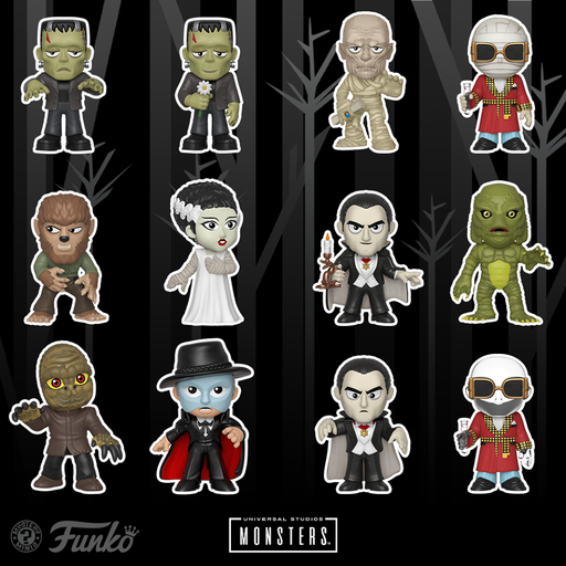 Universal Monsters Mystery minis - Funko Mystery Minis