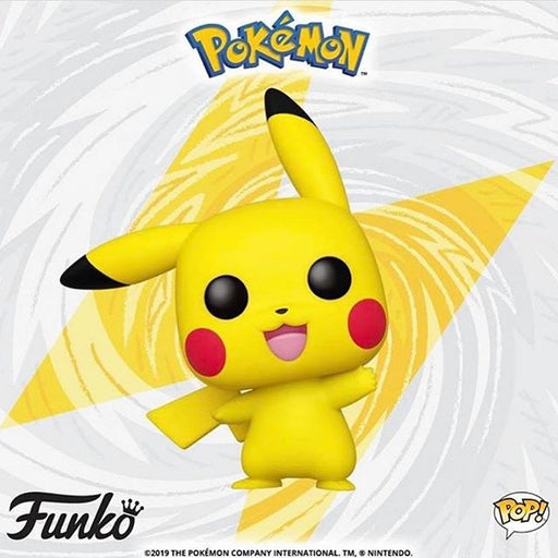 Pikachu (Waving) Pop! - Pokemon Vinyl Figure #553