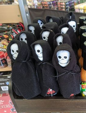 Ass Reaper Hot Sauce on shelf