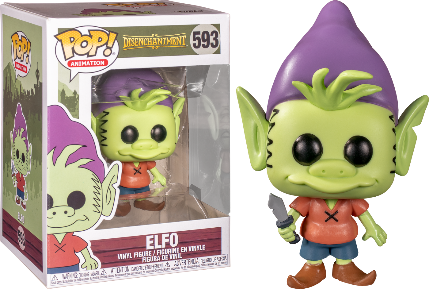 Elfo - Disenchantment Funko Pop!