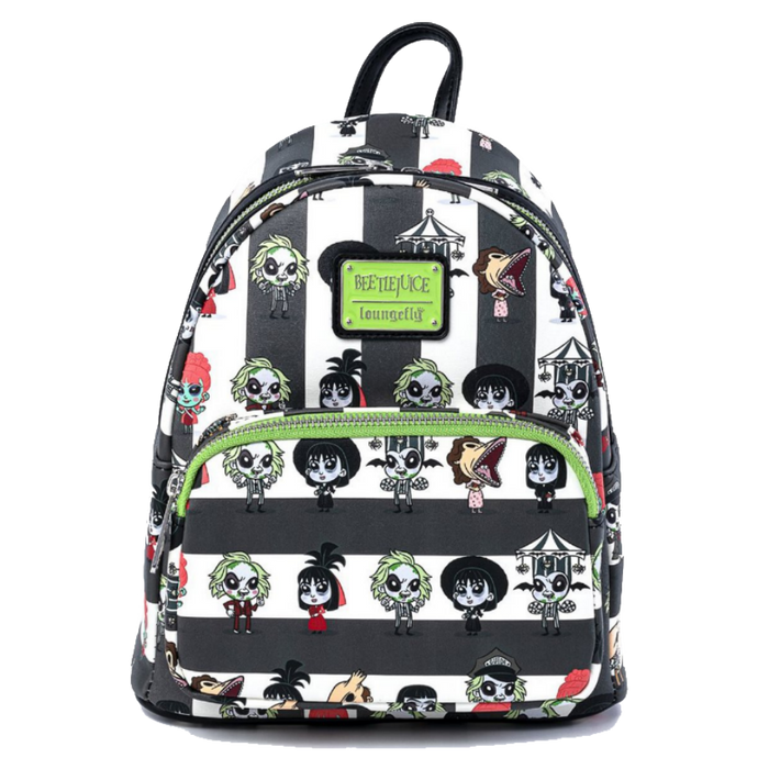 Loungefly Beetlejuice Chibi Mini BACKPACK X LOUNGEFLY