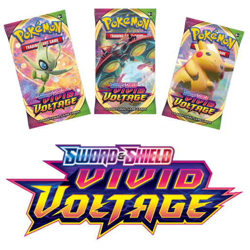 POKEMON: SWORD & SHIELD - VIVID VOLTAGE (SINGLES)