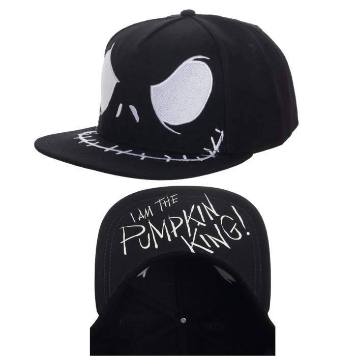 Jack - The Nightmare Before Christmas Snapback - Bioworld