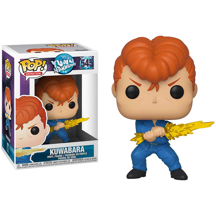 Kuwabara - Yu Yu Hakusho: Pop! Animation