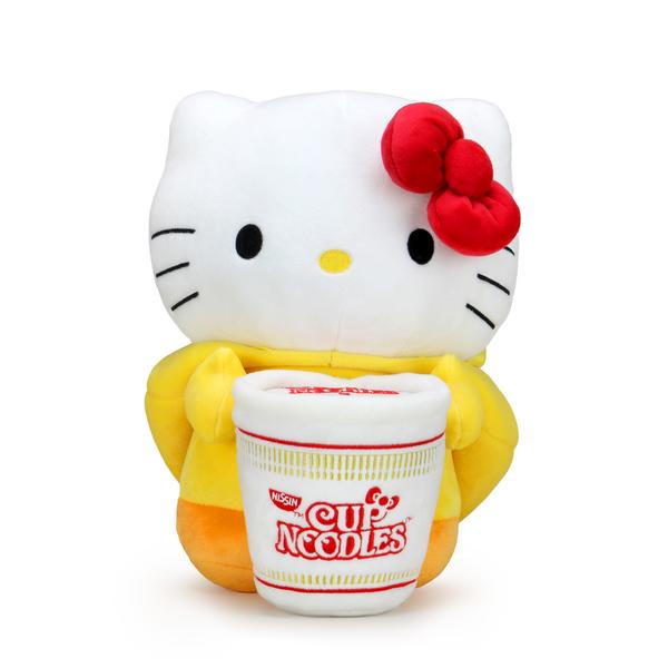 NISSIN CUP NOODLES X HELLO KITTY CHICKEN CUP MEDIUM PLUSH