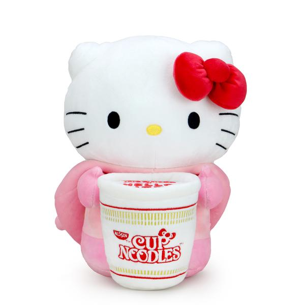 NISSIN CUP NOODLES X HELLO KITTY PORK CUP MEDIUM PLUSH