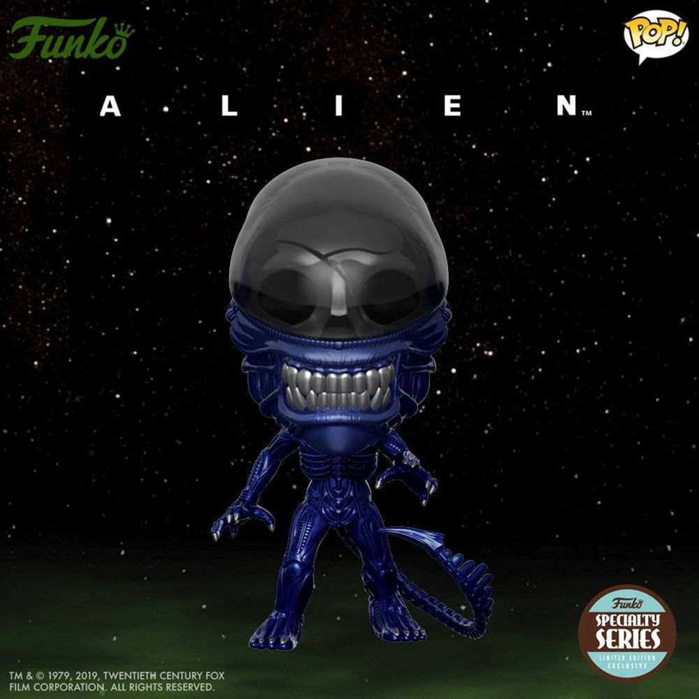 xenomorph alien specialty series metallic