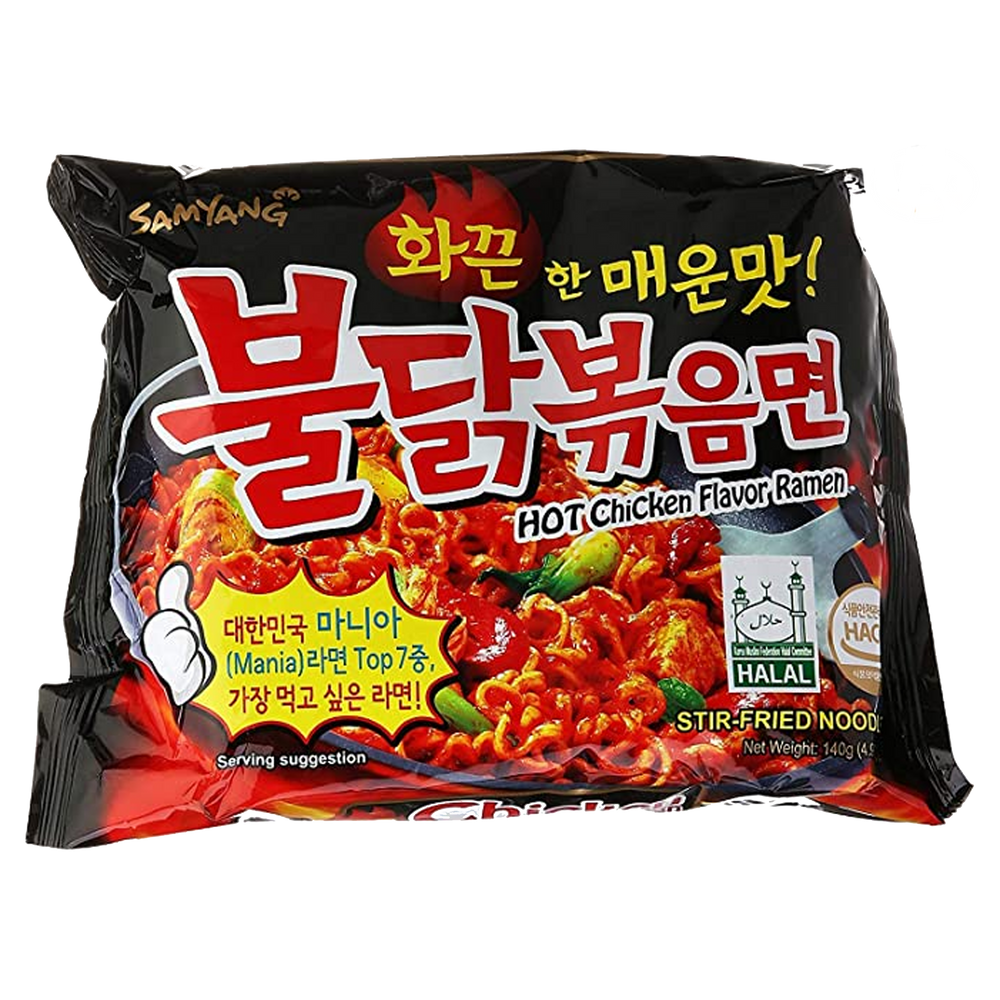 SAMYANG Hot Chicken Flavor Ramen Spicy Flavor