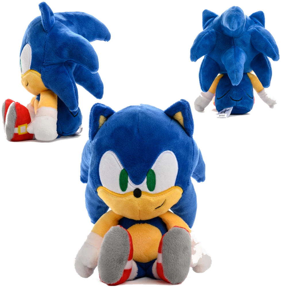 SONIC THE HEDGEHOG PHUNNY PLUSH BY KIDROBOT