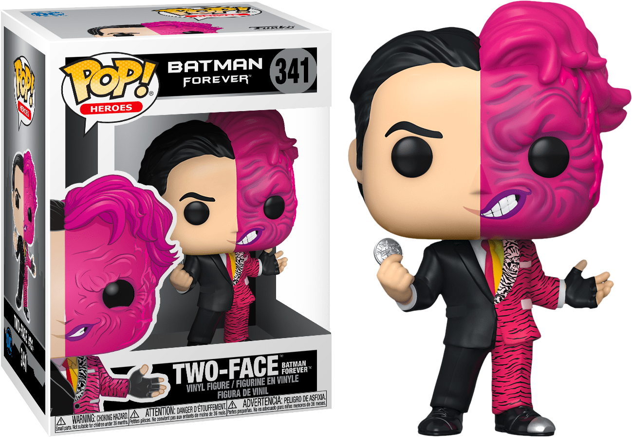Two-Face - Batman Forever Funko Pop! Vinyl Figure