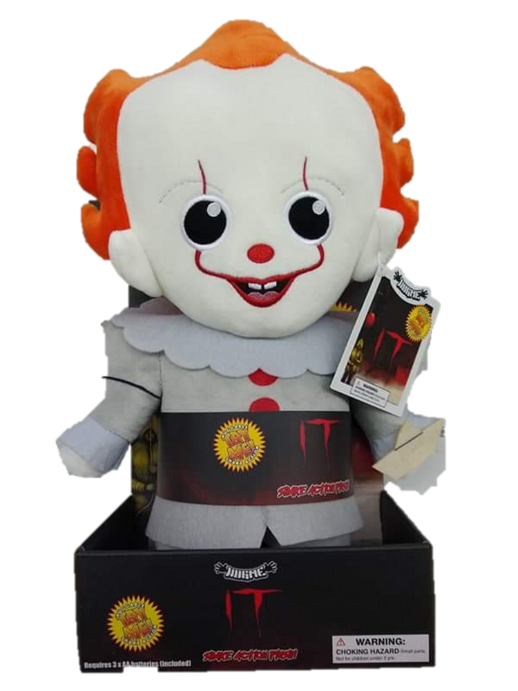 IT PENNYWISE HUGME PLUSH BY KIDROBOT