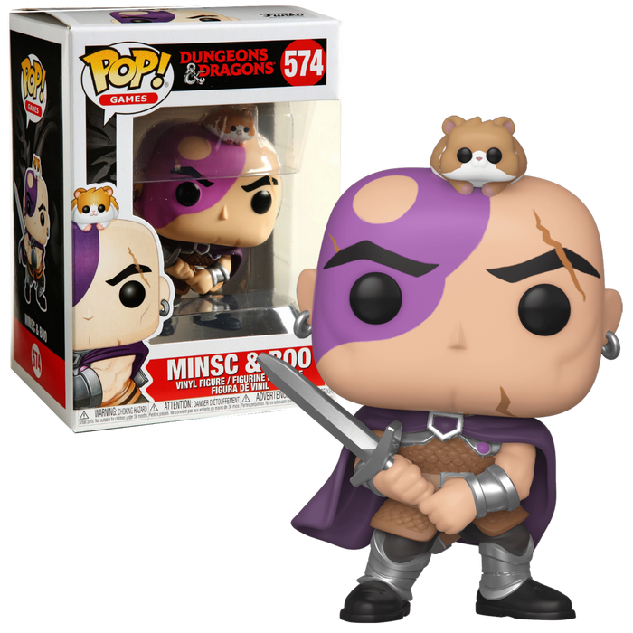 Minsc & Boo - Dungeons & Dragons Pop! Vinyl Figure