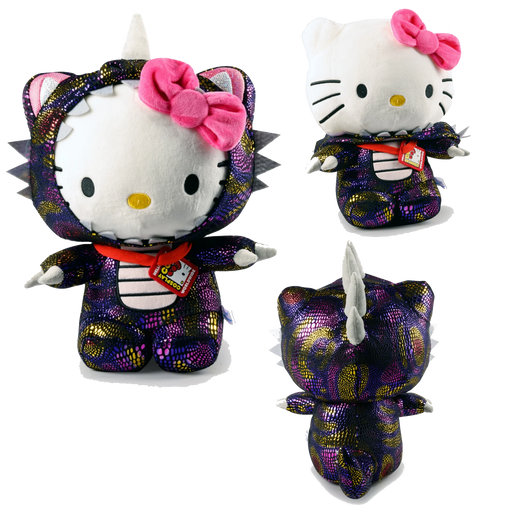 "HELLO KITTY 16"" COSPLAY KAIJU PLUSH- COSMOS BY KIDROBOT X SANRIO"