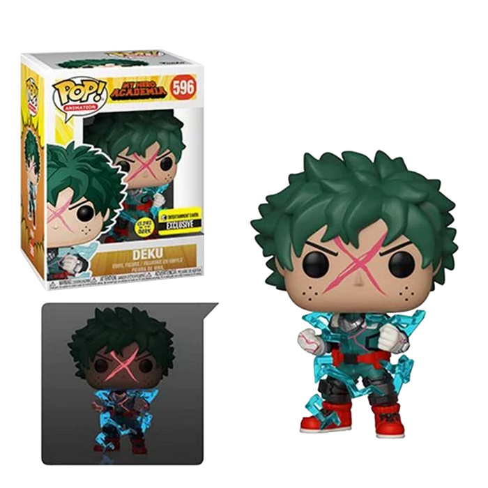 Deku Full Cowl - My Hero Academia (Glow-in-the-Dark) Pop! Vinyl Figure - Entertainment