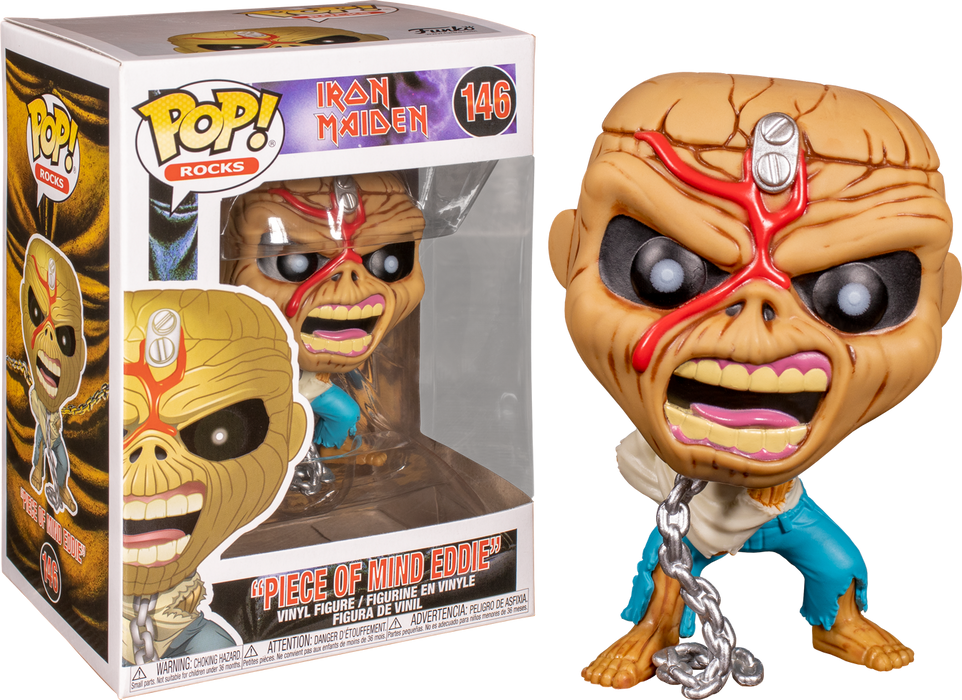 Piece Of Mind Eddie - Iron Maiden Pop! Vinyl Figure