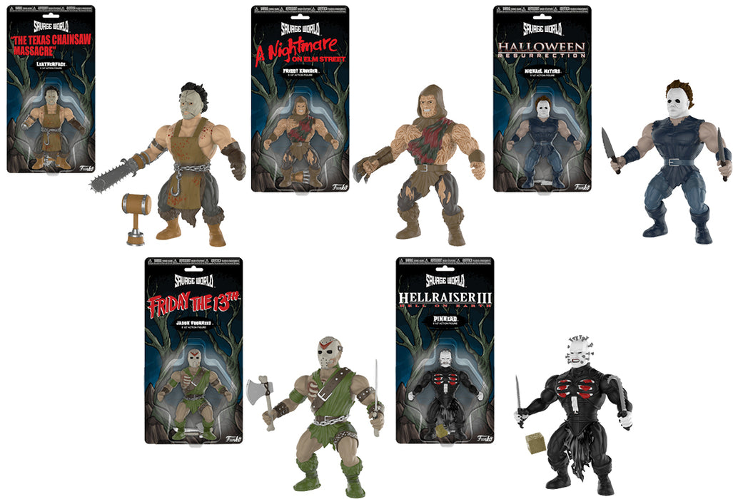Horror Set Savage World by Funko Funko Horror Savage World