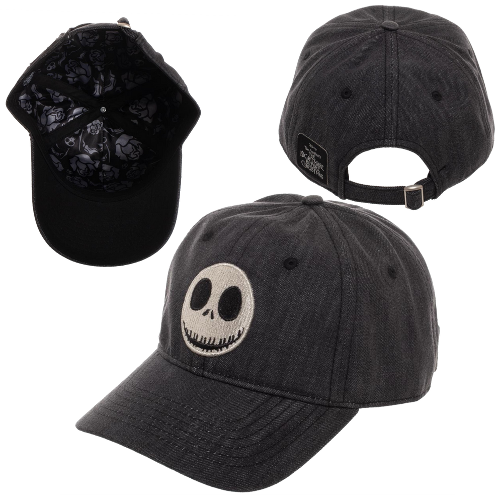 Jack Snapback Hat - Disney Nightmare Before Christmas - Bioworld