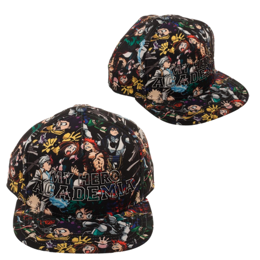My Hero all over print Snapback Hat- My Hero Academia