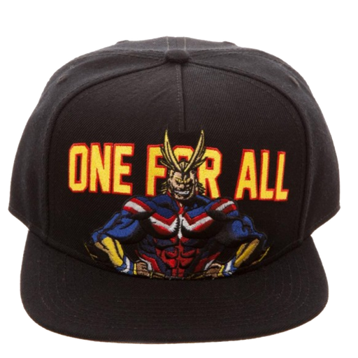 One for all! Snapback Hat- My Hero Academia