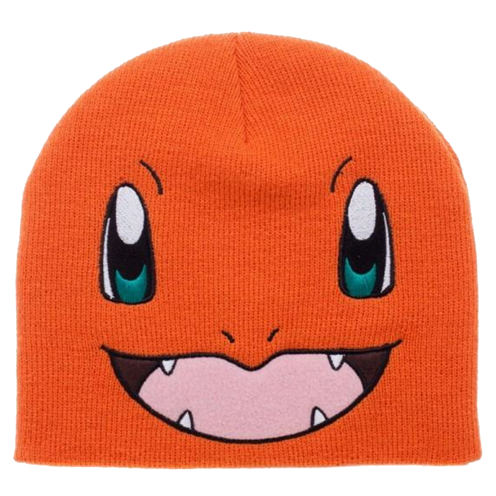 Charmander Knit Beanie Cap Hat - BIOWORLD Pokémon