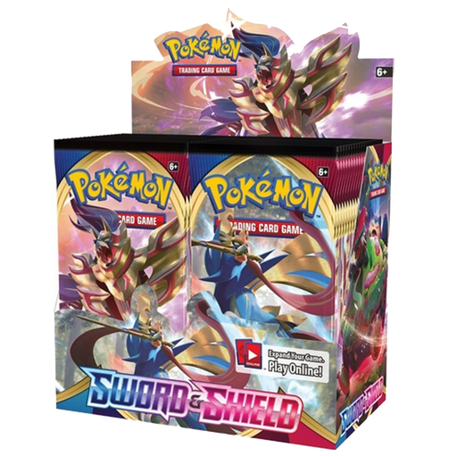 Pokemon TCG - Sword and Shield Expansion, 36 Pack Booster Box